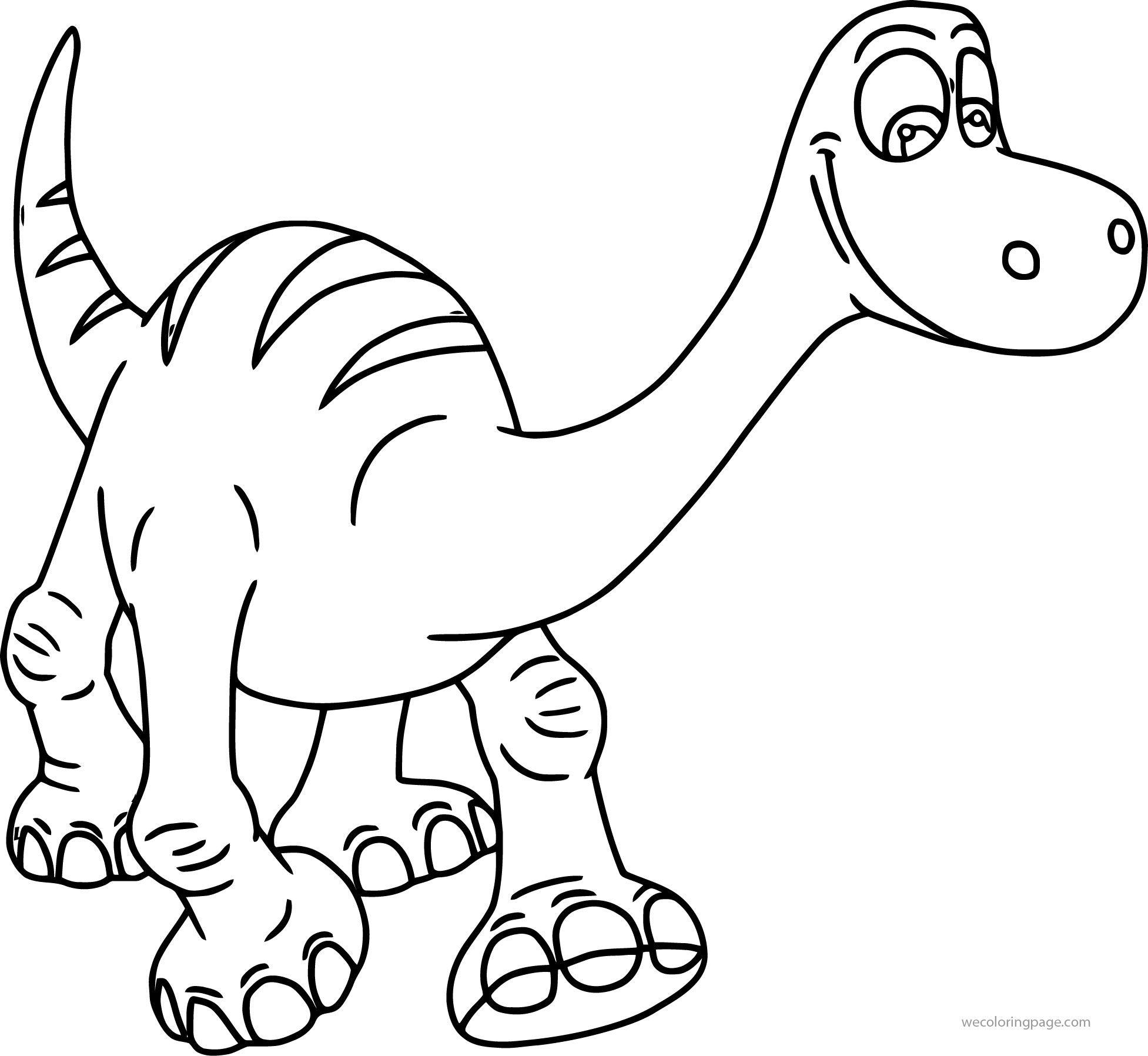 The Good Dinosaur Disney Coloring Pages Kolorowanki Antosia D