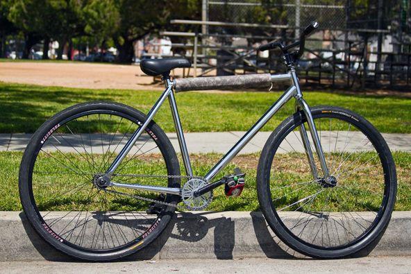 Leader Hurricane Chrome Bike Rider Bicycle