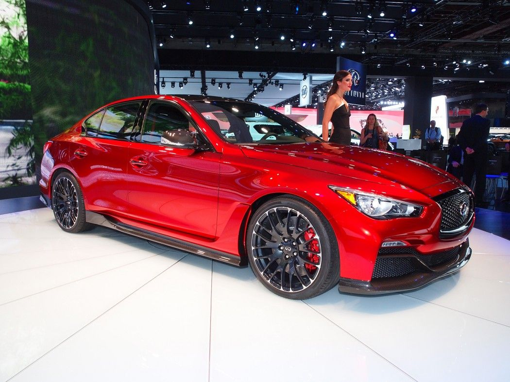 Infiniti takes on the sports sedan market with q50 eau rouge concept car fanatics blog