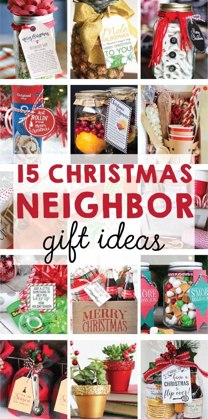 Pinterest christmas neighbor gift ideas