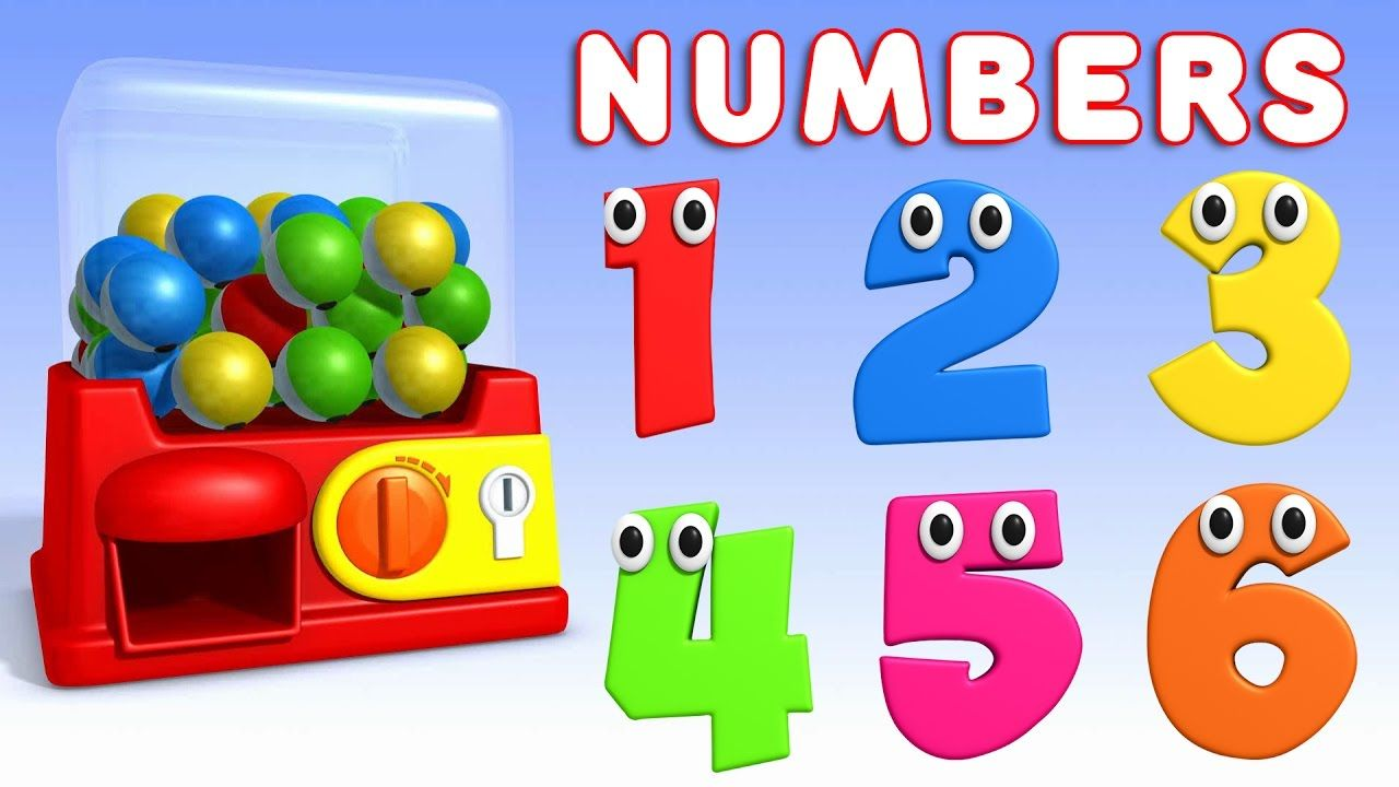 Learning English Numbers With Surprise Eggs Colours And Numbers Videos Collection For Children Learning Colors Abc Songs Coloring Eggs