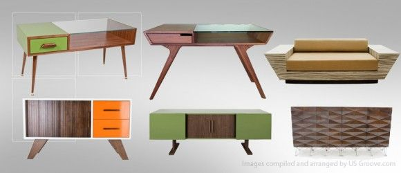Furniture Design Usa atomic living design: mid-century modernist furniture made in usa