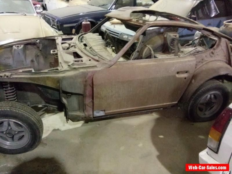 Matching Numbers Datsun 240z Project #datsun #240zsport #forsale ...