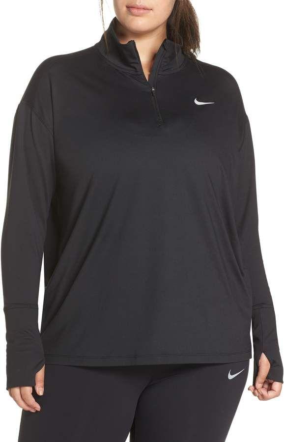 3cd2f435f Nike Element Long Sleeve Running Top. Nike Element Long Sleeve Running Top  Plus Size Womens Clothing ...