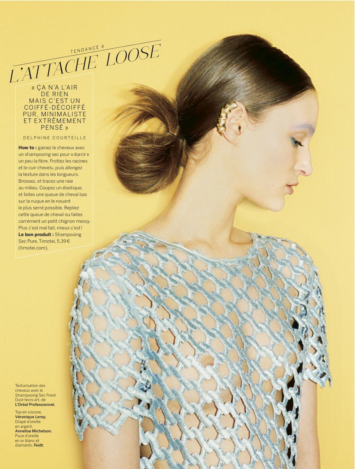 coupé décalé: franzi mueller by bastien lattanzio for stylist france #008 6th june 2013   visual optimism; fashion editorials, shows, campaigns & more!