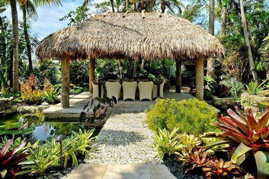 Laid Back Island Style: Un Cheesy Backyard Tiki Huts