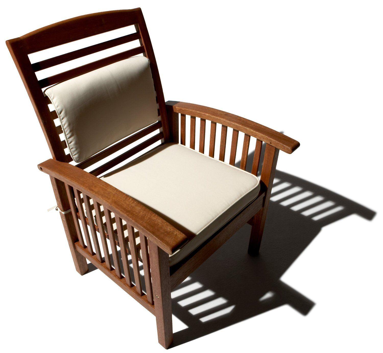 Amazon.com : Strathwood Gibranta All-Weather Hardwood Arm Chair, Set of 2 :  Patio Lounge Chairs : Patio, Lawn & Garden