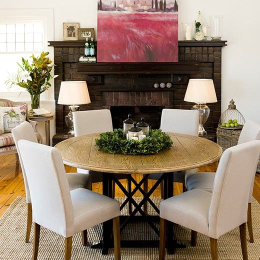 Provincial Oak Round Dining Table 1400mm Distressed Black Round Dining Table Dining Table Dining