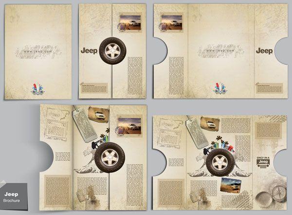 Jeep Brochure Design 20 Simple Yet Beautiful Inspiration Templates