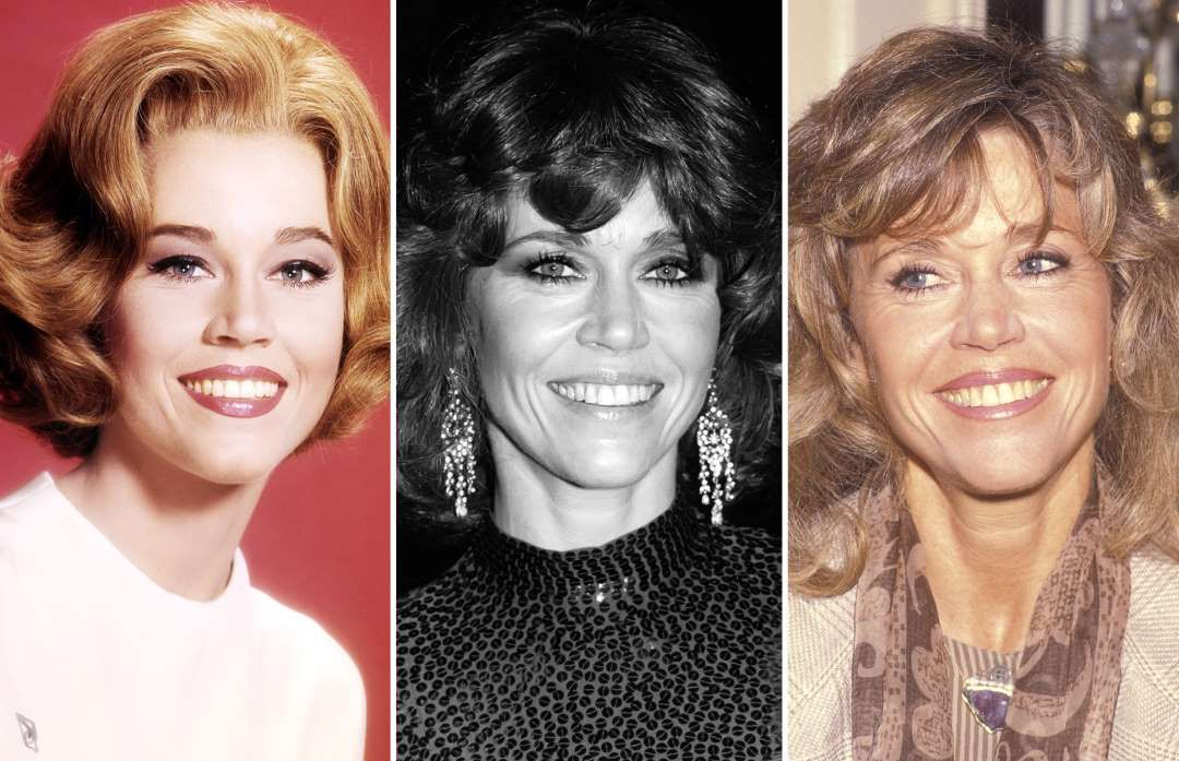 Jane Fonda (1962-1991) - Silver Screen Collection/Getty Images; Robin…