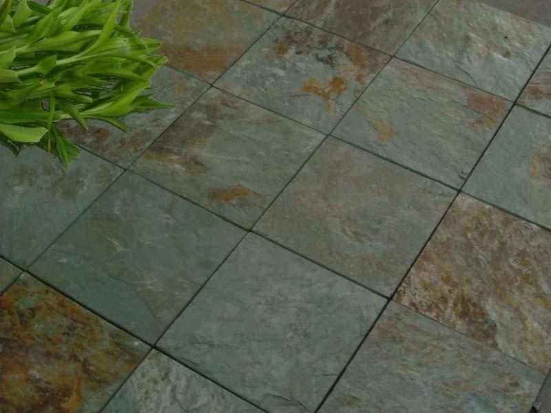 Slate tiles | Back Yard | Pinterest | Slate patio, Slate and Patios