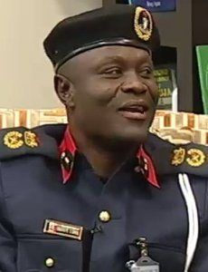 Mr  Shem ObafaiyeMr Shem Obafaiye, the Oyo State Commandant