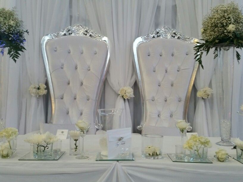 Luxury Top Table Designs For Wedding S Back Drops Throne Chairs
