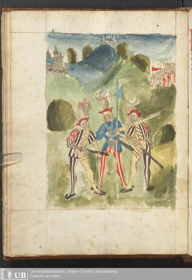 36 [17v] - Ms. germ. qu. 14 (Ausst. 48) - Rüst- und Feuerwerksbuch - Page - Mittelalterliche Handschriften - Digitale Sammlungen Rhein-Main-Gebiet, [um 1500]