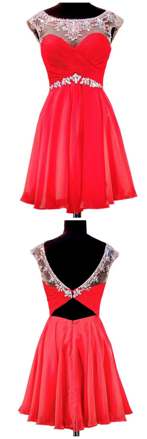 Cute th grade prom dresses sweetheart spaghetti strap top