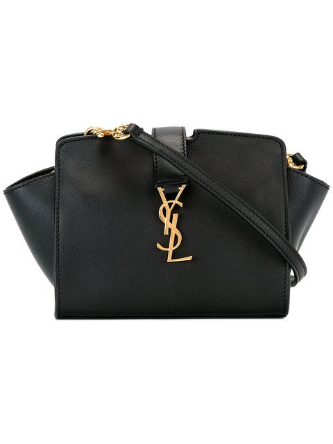 63f4e4d98e Shop Saint Laurent toy YSL Cabas crossbody bag.