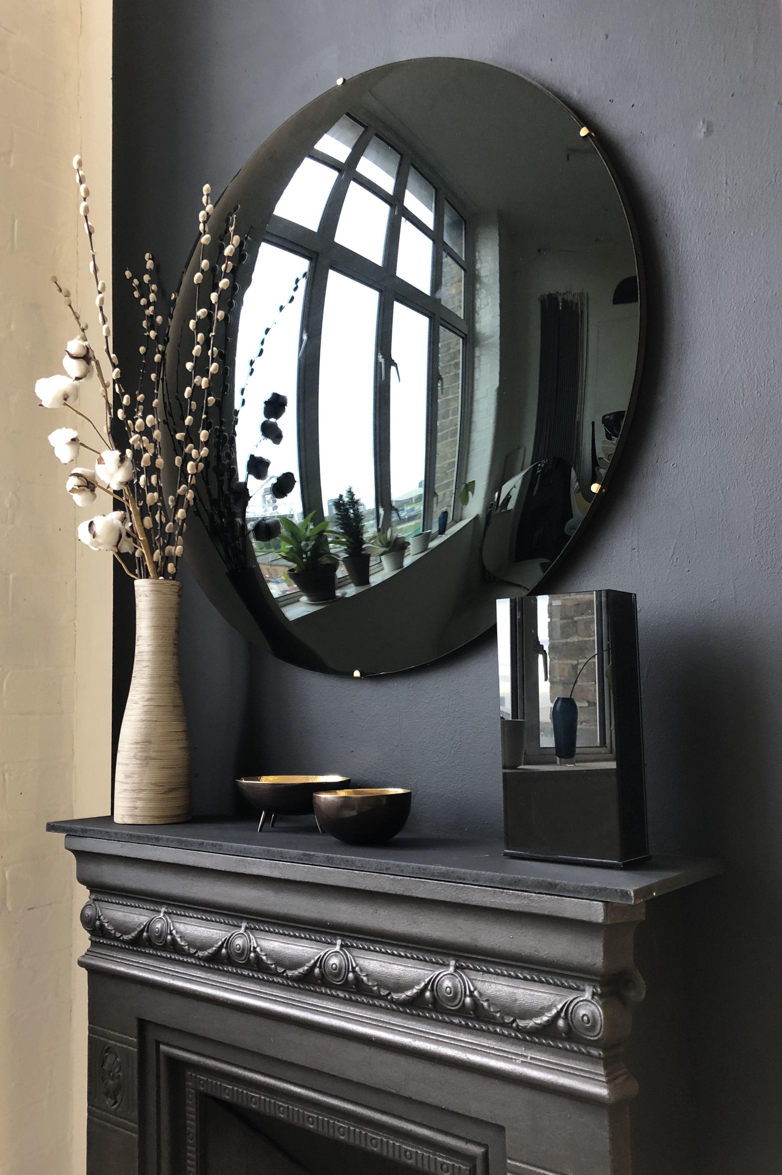Marcel Industrial Vintage  wall mirror Diameter 80cm