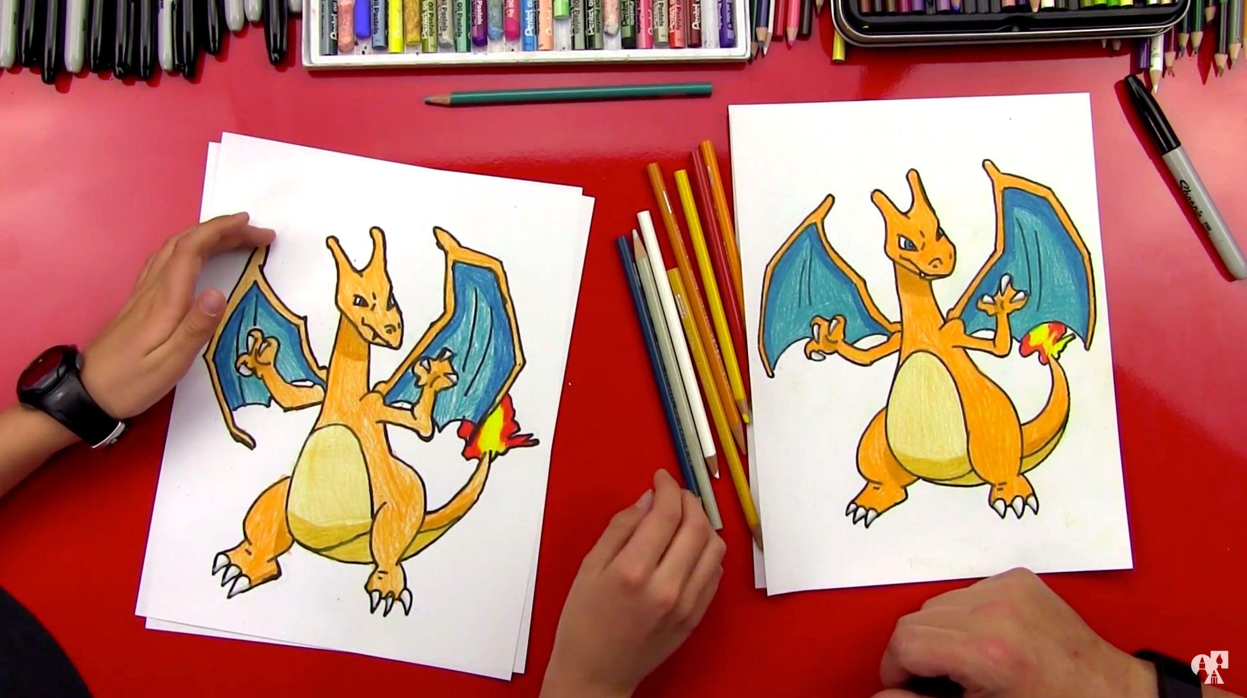 How To Draw Pokemon Art For Kids Hub