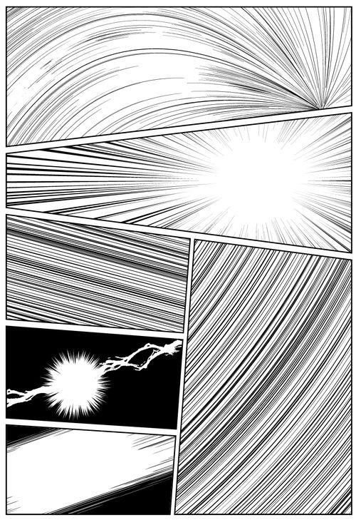 Comic Speed Lines Screentone Comic Book Drawing Manga Studio Tutorial