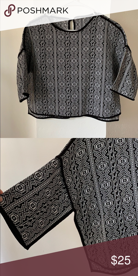 e6512b90aaa Aztec Print top Such a cute top to wear in the coming season   NOT madewell  just listed for exposure Madewell Sweaters