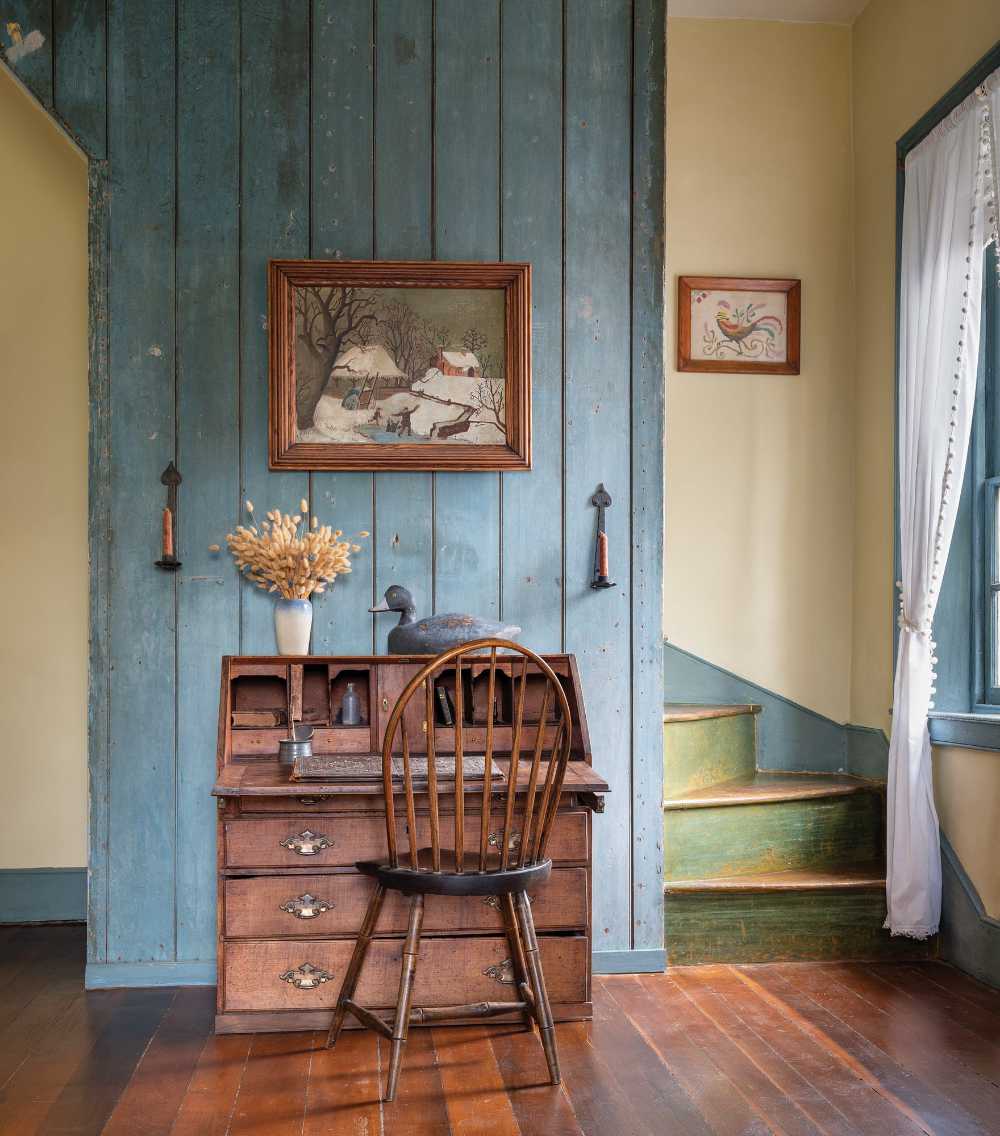Kentucky Historic Federal Home In 2020 Old House Decorating Primitive Homes Primitive Decorating Country