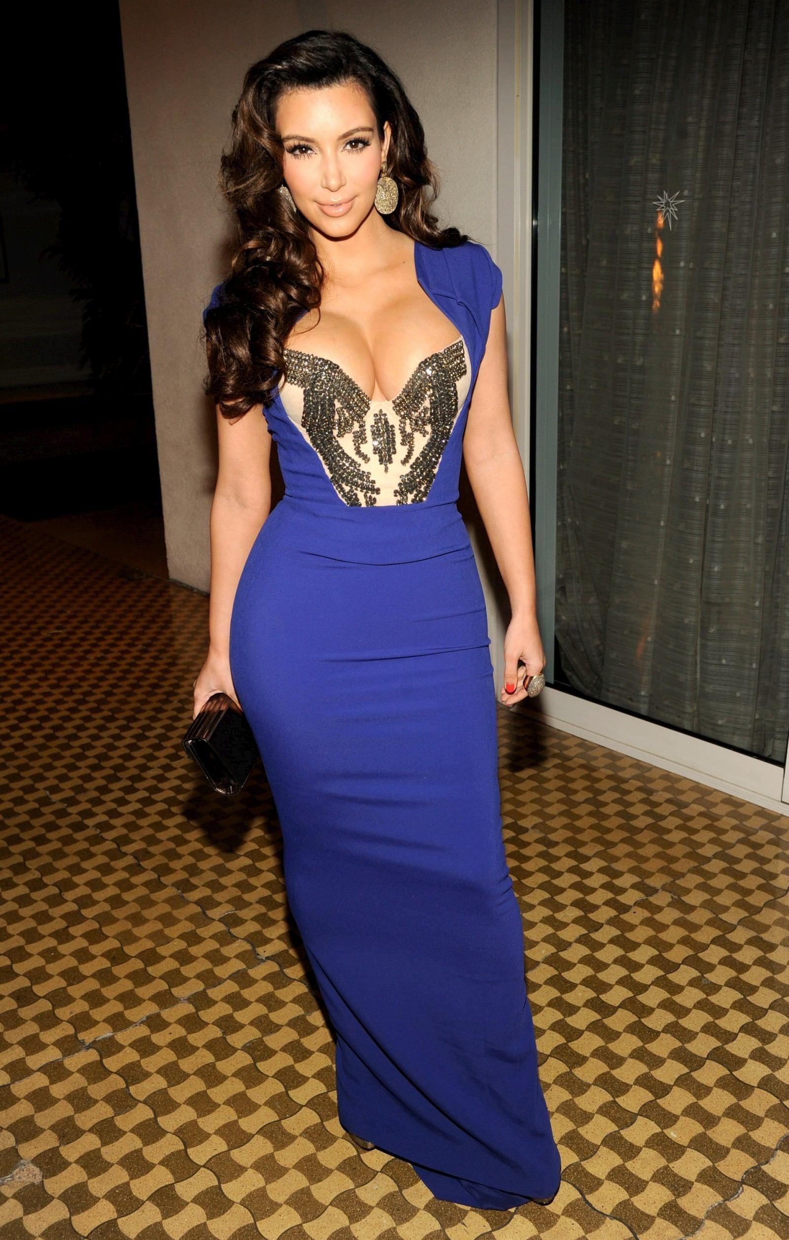 Kim k royal blue dress quinceanera | Color dress | Pinterest ...