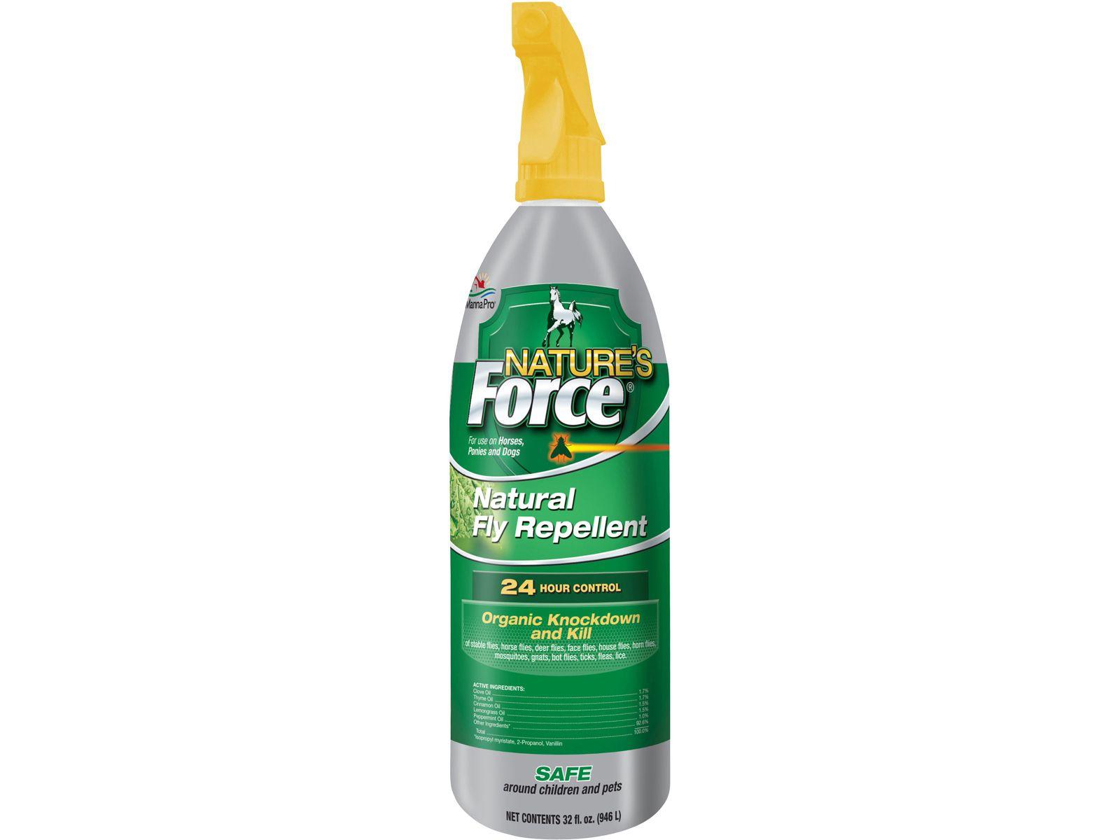 Natureus force fly spray for horses oz fly spray sprays and