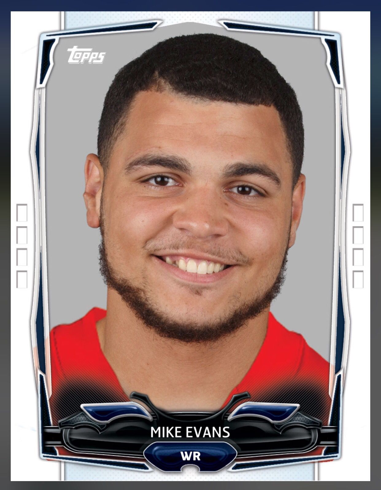 Mike Evans Tampa Bay Buccaneers Base Card 2015 Topps Huddle Football Trading Cards Tampa Bay Buccaneers Mike Evans