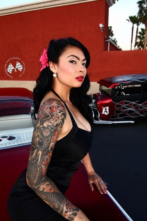 Tera patrick naked tattoos look