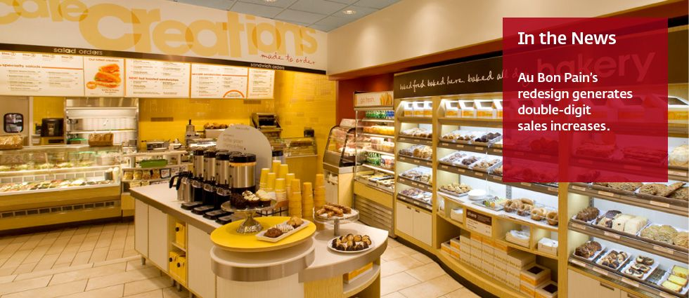 Au Bon Pain's redesign by Interbrand brings double digit sales inreases
