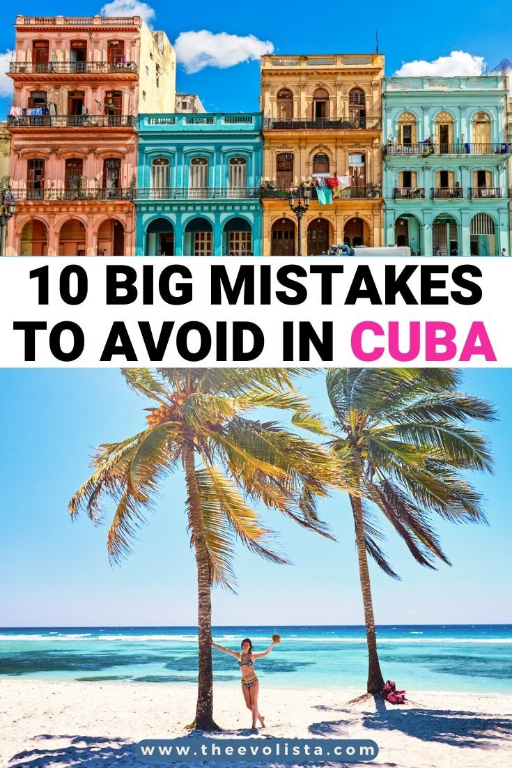 10 Big Mistakes To Avoid When Planning A Trip To Cuba   Safety in Cuba   Cuba travel guide   Best things to do in Havana   Havana Travel Tips   Best time of year for a Cuba trip   Where to stay in Havana Cuba   Cuba Airbnbs   Casa Particulares   Mistakes on a Cuba itinerary   Things you will need in Cuba   Wifi and cell service in Cuba   Food in Cuba   Tips and tricks for first time Cuba travelers   Tips for traveling to Havana   Things to do in Cuba   Cuba travel #havana #cuba #traveltips