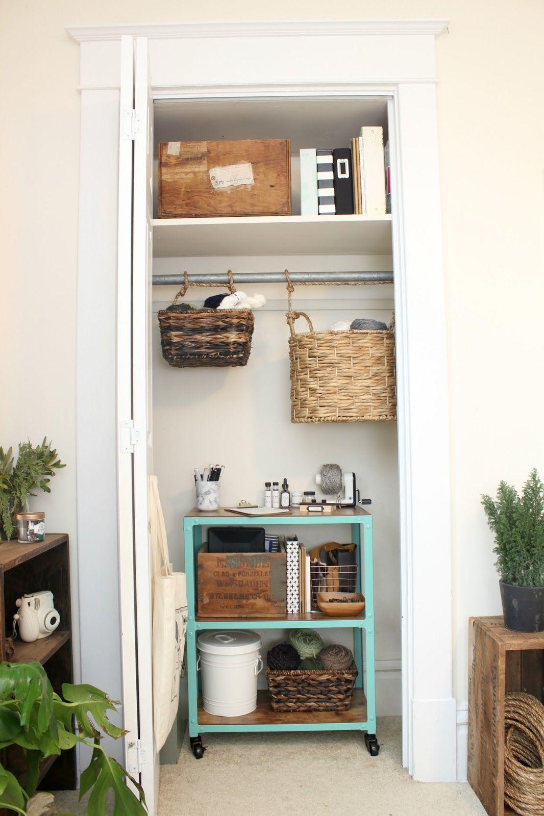 Pin by Shae Solomon on HOME | Tiny closet solutions, Tiny ...