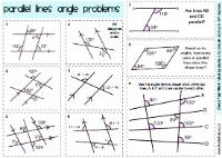 Kindergarten Worksheets. Angles And Parallel Lines Worksheet ...