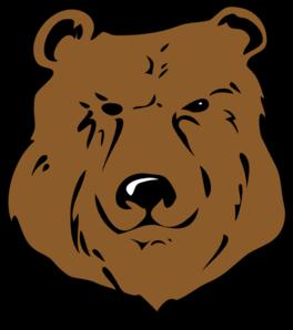 Vector Clip Art Online Royalty Free Public Domain Bear Face Drawing American Black Bear Art