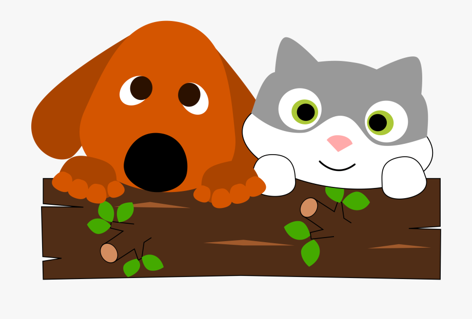 Google Image Result For Https Www Netclipart Com Pp M 0 1067 Free Dog And Cat Clipart Images Cartoon Cat Png Cat Clipart Free Dogs Dog Cat