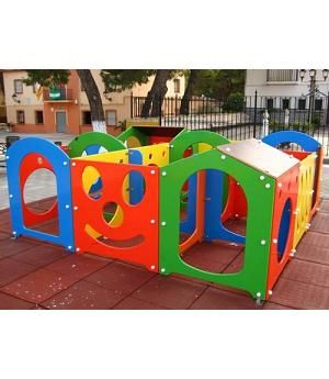 Venta Laberinto Para Ninos Mod Parque Infantil Homologado Uso