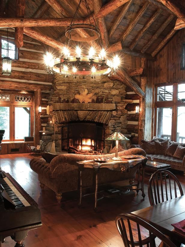 Country Living-rooms From Larry Pearson On HGTV Now I