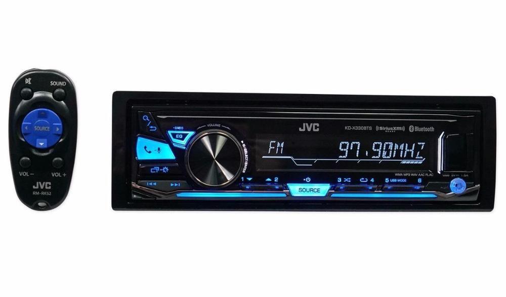 Jvc Kd X330bts 1 Din Digital Media Car Stereo In Dash Receiver W