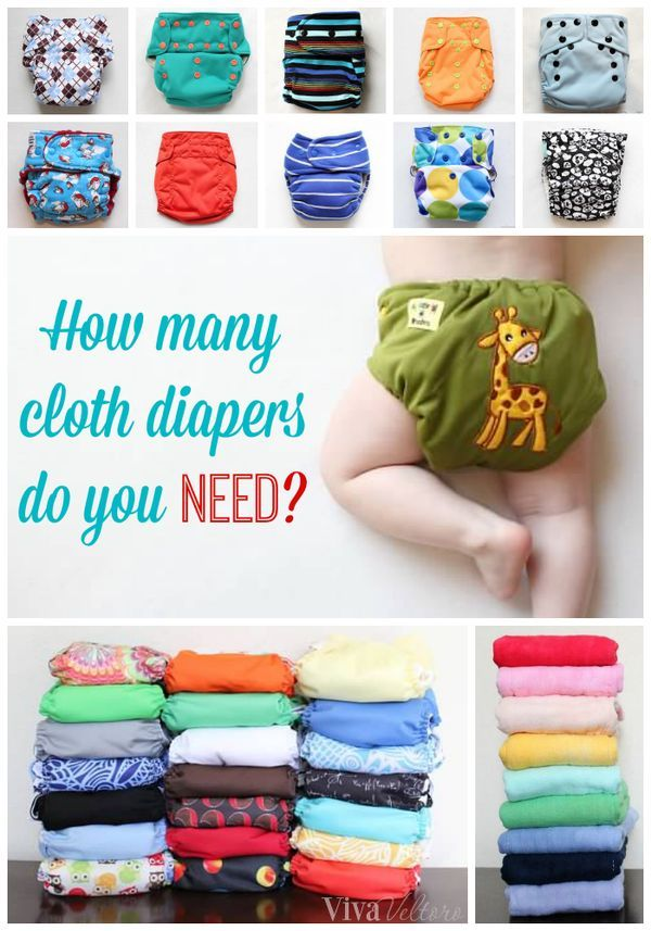 How many cloth diapers do I need? Find out here! | Best ...