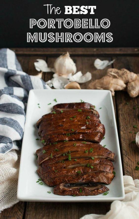 Baked Portobello Mushrooms The Best