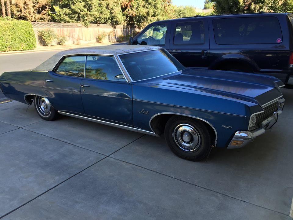 1970 Chevrolet Impala sedan (CA) - $12,500 obo Contact: Ted - 559 ...