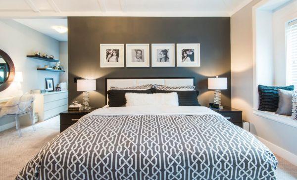 Schwarz Weiß Bilder Interior - tolle Ideen für Ihre Dekoration - bilder wohnzimmer schwarz weiss