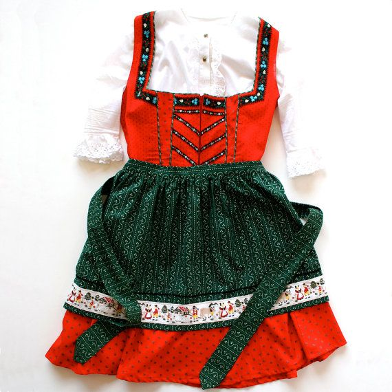Girls Toddler DIRNDL DRESS PATTERN Dress Jumper \ Apron Little - küchenschranktüren einzeln kaufen