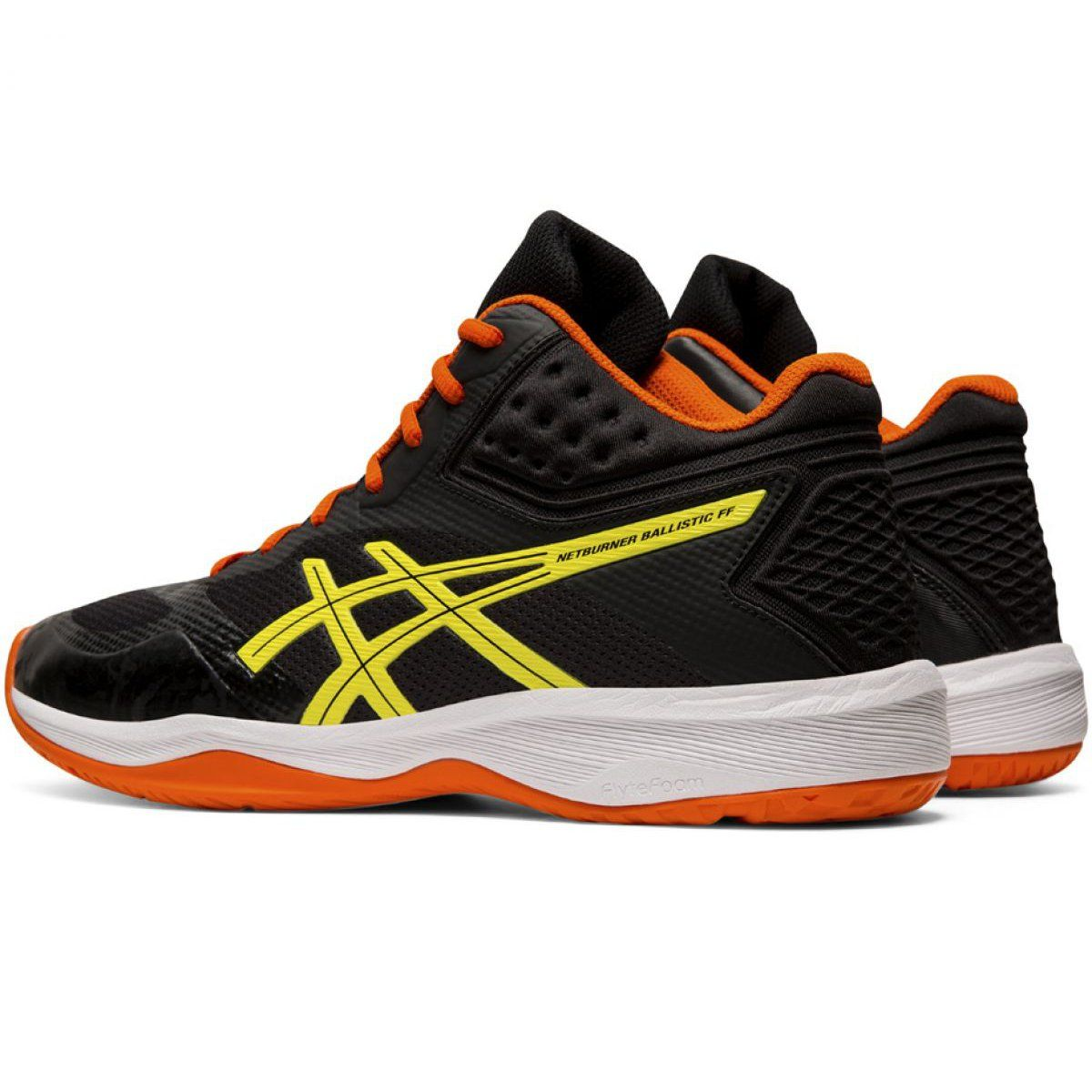 Buty Do Siatkowki Asics Netburner Ballistic Ff Mt M 1051a003 003 Czarne Czarne Volleyball Shoes Asics Volleyball Shoes Asics