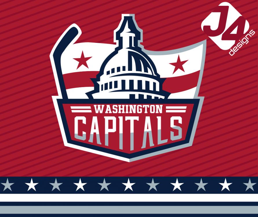 Jj Wc Primary Png Washington Capitals Sports Logo