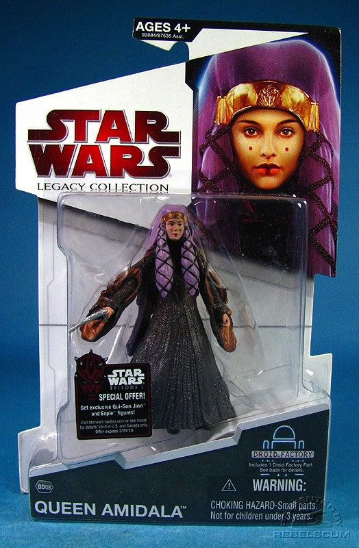 Star Wars the Legacy Collection Padme Amidala Action Figure
