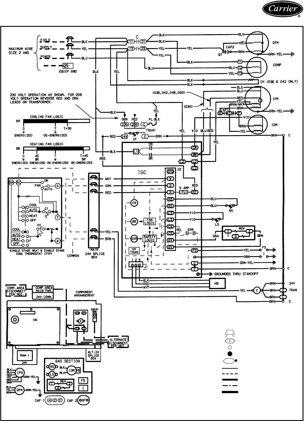 Carrier Heat Pump Wiring Diagram In 2020 Ac Wiring Carrier Heat Pump Diagram
