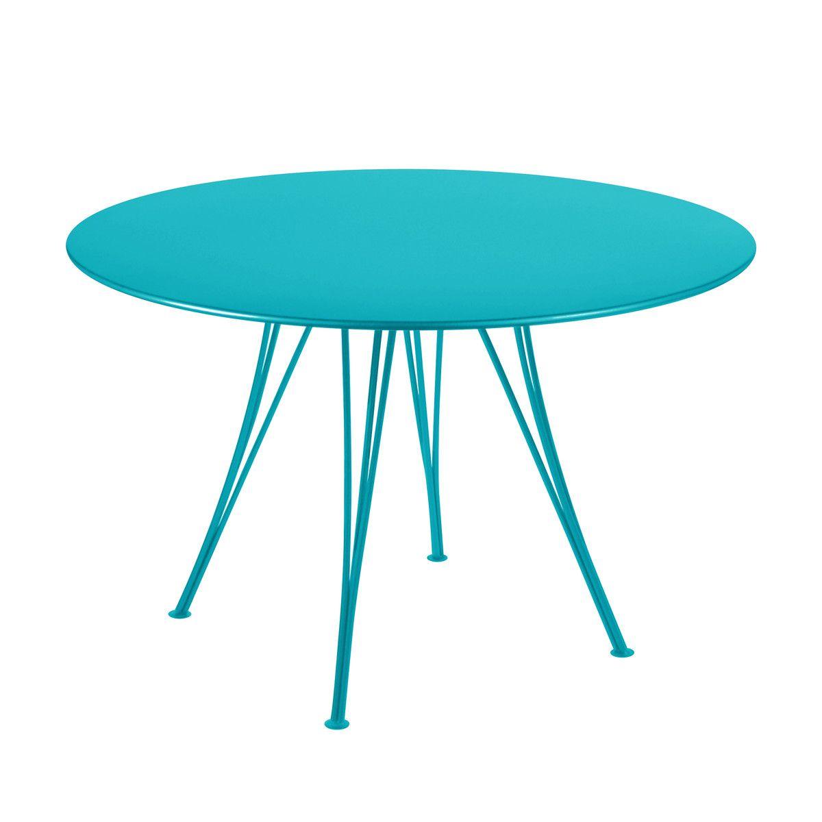 Mesa exterior, modelo Rendez-vous by Pascal Mourgue de Fermob ...