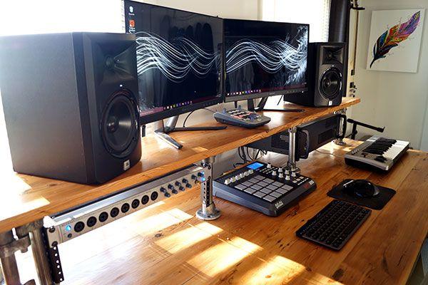 151 Home Recording Studio Setup Ideas Infamous Musician Home Studio Setup Studio Desk Home Recording Studio Setup