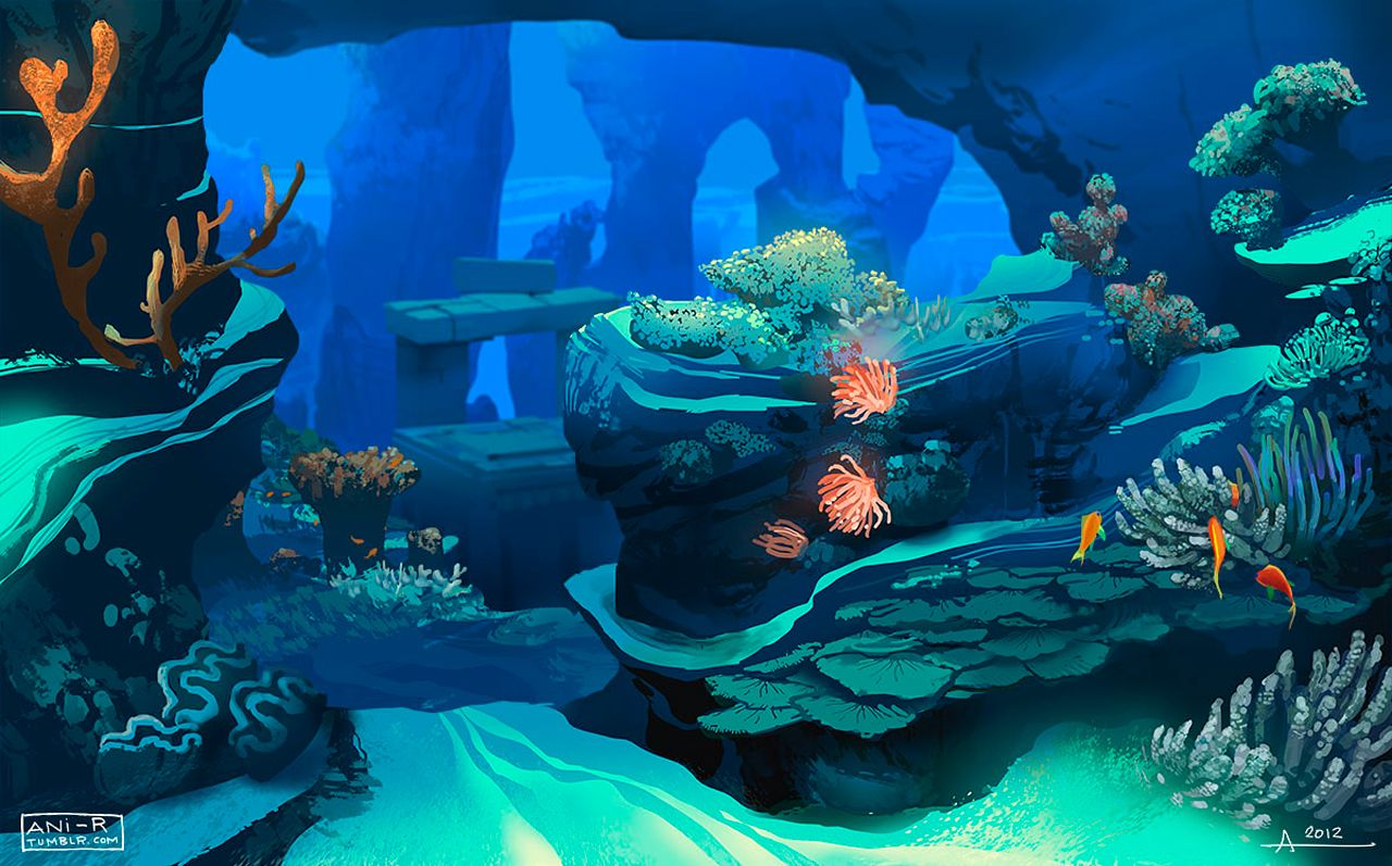 Coral Reef Concept Art